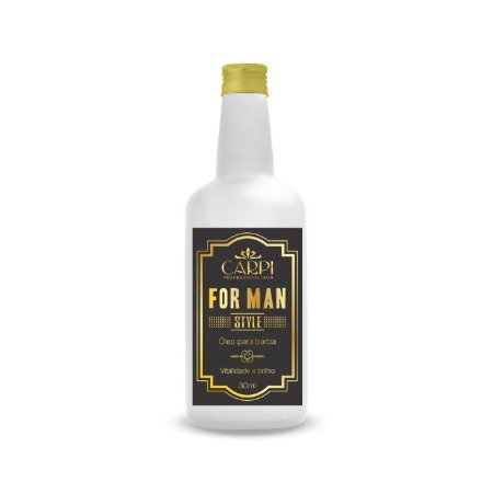 Óleo Hidratante Para Barba - For Man - 50ml