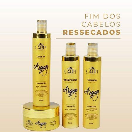 Kit Argan Oil - Restauração e revitalização para cabelos ressecados.