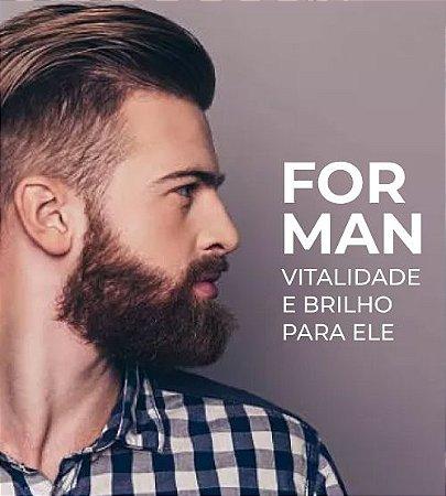 Kit For Man - Vitalidade, brilho, definição e modelagem para Ele