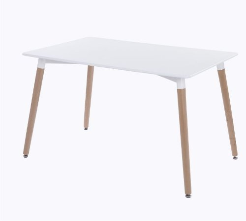 Mesa Ibiza Branca 120 cm