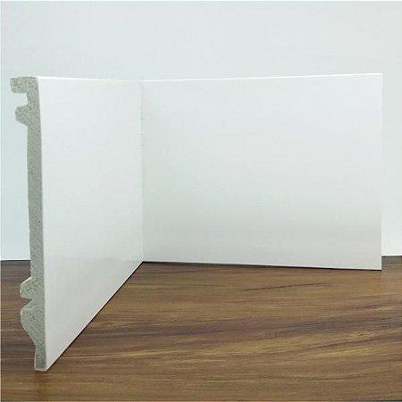 Rodapé Liso Branco 15 Cm