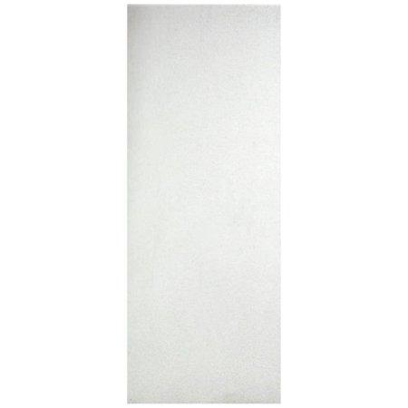 Porta Lisa HDF Primer Folha Fundo Branco 60x210 cm