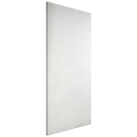 Porta Lisa HDF Primer Folha Fundo Branco 80x210 cm