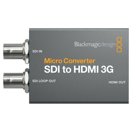 Micro Conversor Blackmagic Design SDI Para HDMI 3G Com Fonte
