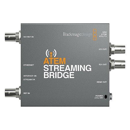 Conversor Blackmagic ATEM Streaming Bridge Para Conversores ATEM Mini Pro