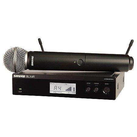 Sistema de Microfone de Mão Sem Fio Shure BLX24RBR/SM58