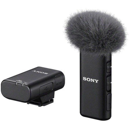 Sistema de Microfone Sem Fio Sony ECM-W2BT