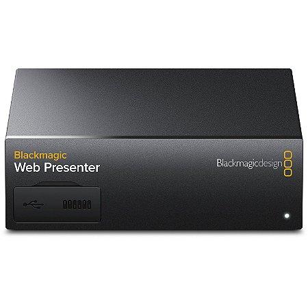 Interface Blackmagic Design Web Presenter