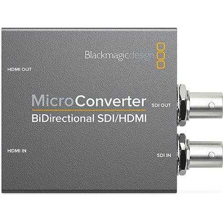Micro Conversor Blackmagic Design SDI/HDMI Bi-Direcional com fonte