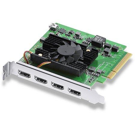 Placa de Captura Blackmagic Design Decklink Quad HDMI Recorder