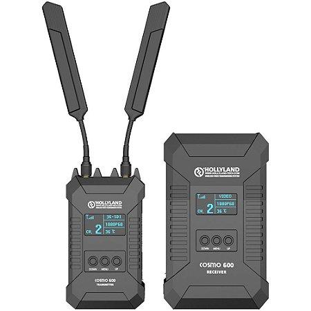 Kit Transmissor e Receptor Hollyland Cosmo 600 Wirelles HDMI/SDI