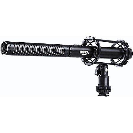 Microfone Shotgun Profissional Boya BY-PVM1000