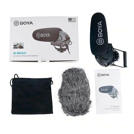 Microfone Shotgun Boya BY-BM3031