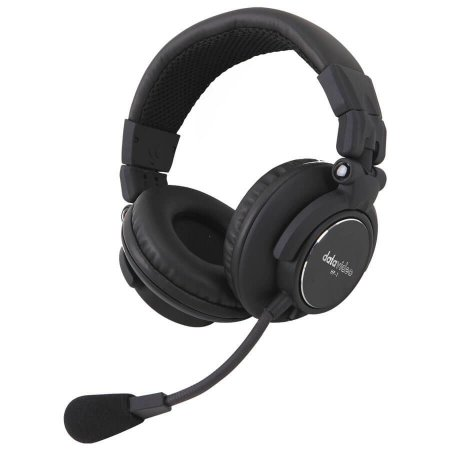 Headset Dual Para Sistemas Intercom ITC Datavideo HP-2A