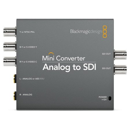 Mini Conversor Blackmagic Design Analogico para SDI