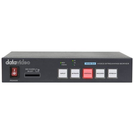 Servidor de Streaming Datavideo NVS-34