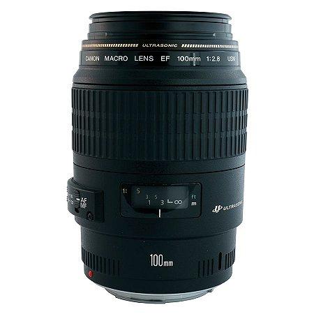 Lente Canon EF 100mm f/2.8 Macro USM