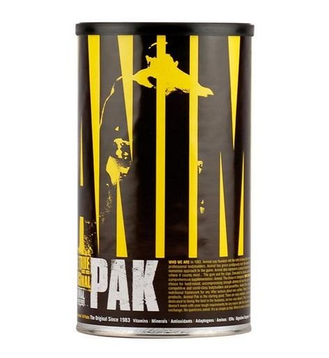 ANIMAL PAK  MULTIVITAMINICO ( 30 PACKS) UNIVERSAL NUTRITION