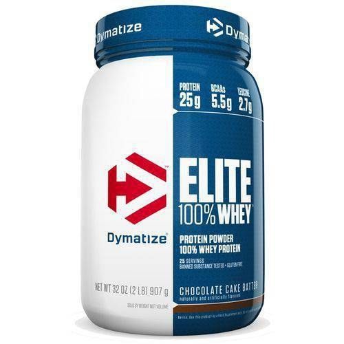 WHEY ISOLADO DYMATIZE- ELITE WHEY (900g)- SABOR RICH CHOCOLATE
