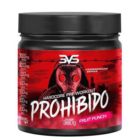 PRÉ-TREINO PROHIBIDO 360G-3VS NUTRITION