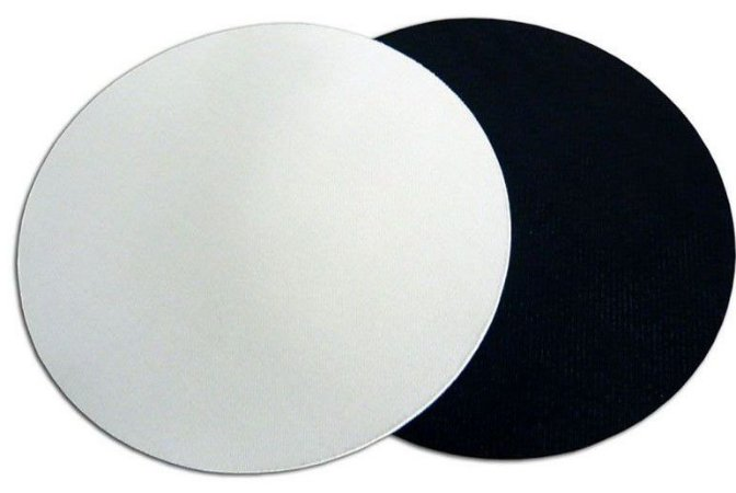 Mouse pad redondo - EVA 5 Unidades