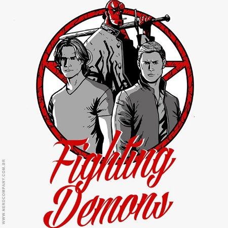 Camiseta Fighting Demons - Masculina