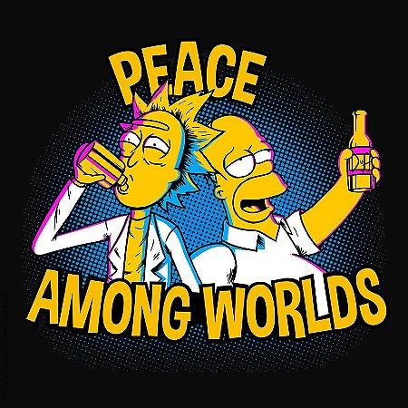 Camiseta Peace Among Worlds - Masculina
