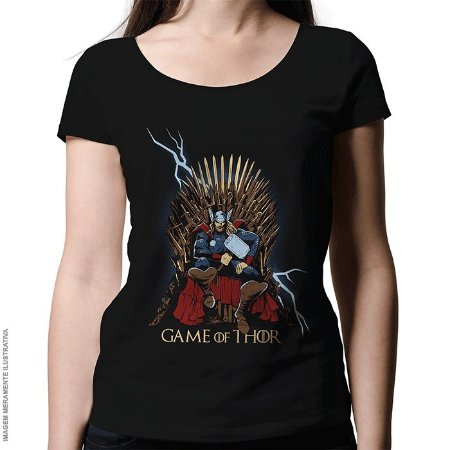 Camiseta Game Of Thor - Feminina