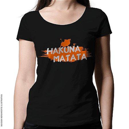 Camiseta Hakuna Matata - Feminina