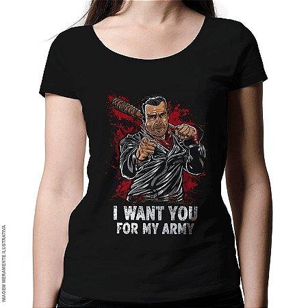Camiseta I Want You - Feminina