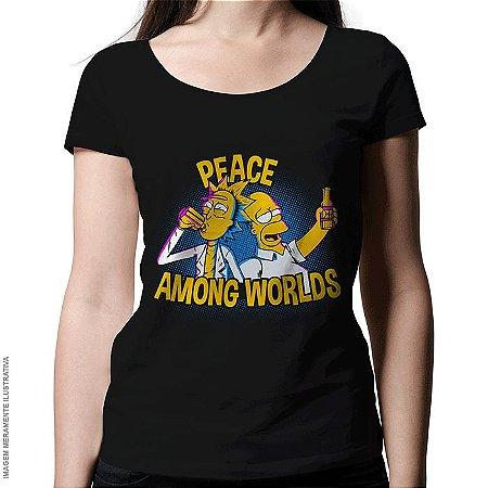 Camiseta Peace Among Worlds - Feminina