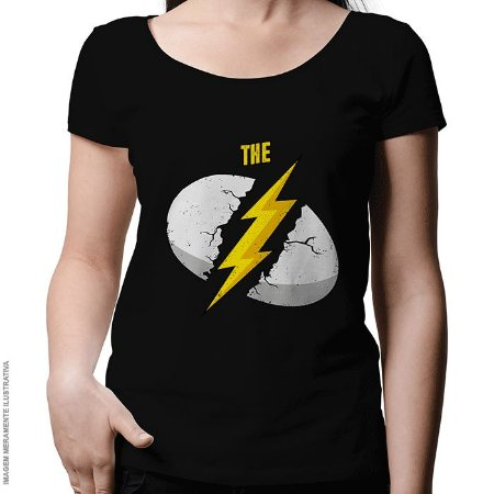 Camiseta The Flash - Feminina