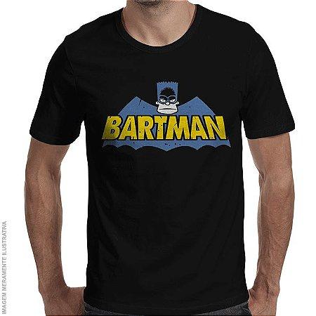 Camiseta Bartman Logo