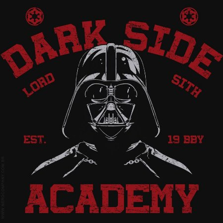 Camiseta Dark Side Academy - Masculina
