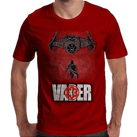 Camiseta Dark Side Of The Force - Masculina
