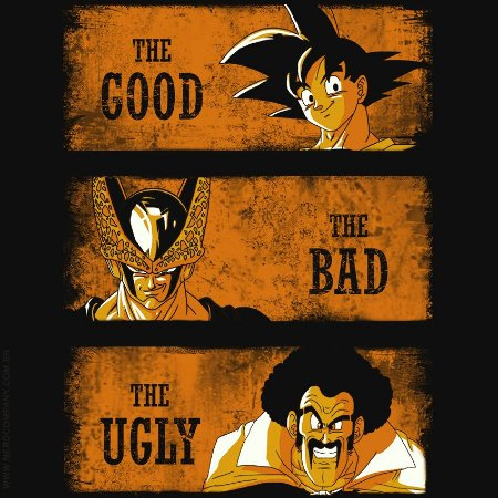 Camiseta Good Bad Ugly - Masculina
