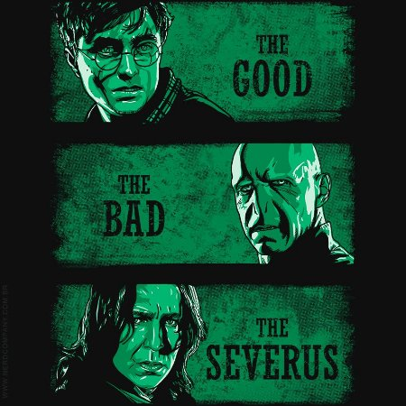 Camiseta Harry Potter Personality - Masculina