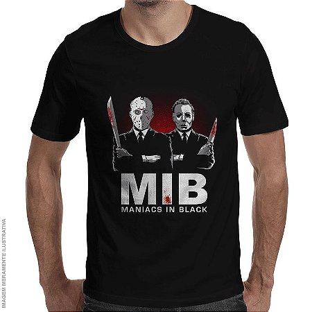 Camiseta Maniacs in Black - Masculina