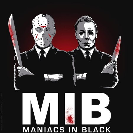 Camiseta Maniacs in Black - Masculina