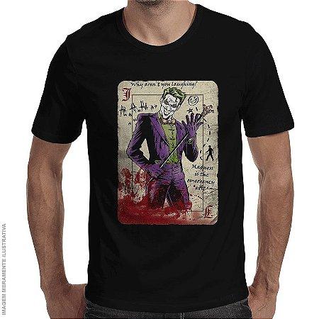 Camiseta Coringa Master Criminal