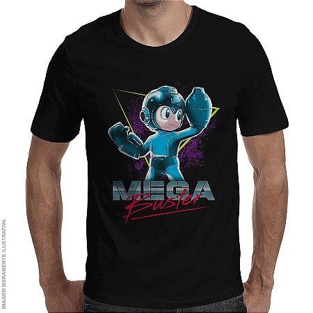 Camiseta Mega Buster - Masculina