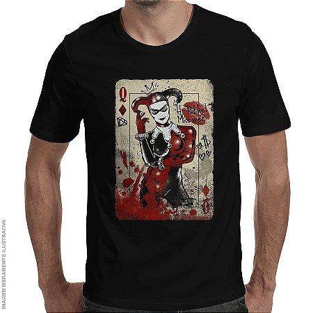Camiseta Arlequina Miss Me - Masculina