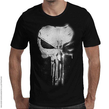 Camiseta Justiceiro Punishment - Masculina