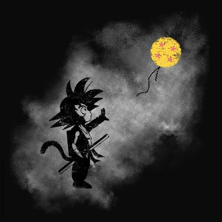 Camiseta Goku Balloon - Masculina