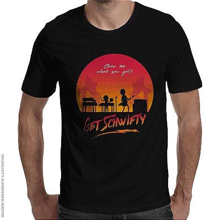 Camiseta Schwifty