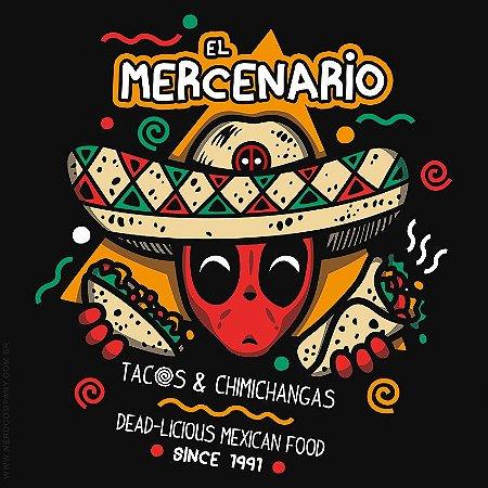 Camiseta El Mercenário Mexican - Masculina
