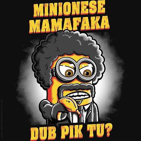 Camiseta Minionese Mamafaka - Masculina