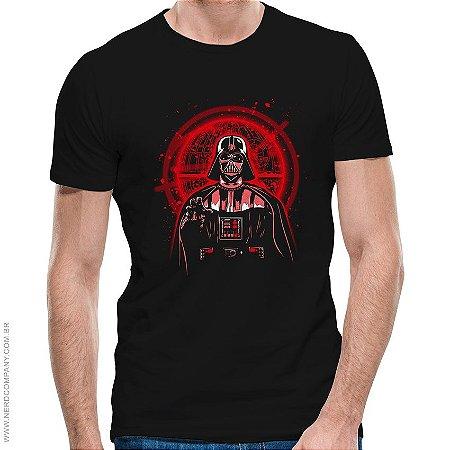 Camiseta Darth Protect the Plans - Masculina