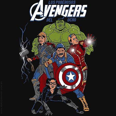 Camiseta Avengers Del Ocho - Masculina