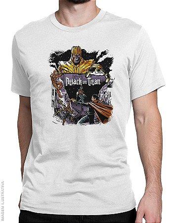 Camiseta Attack on Titan - Masculina